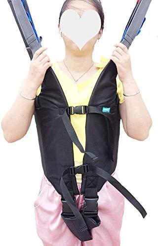 4139+l6 gIL - Grúa de paciente portátil Montacargas honda del paciente for el uso casero cinta de transferencia de la cómoda del paciente de la desventaja honda Cama de cuidado del cinturón de cintura ajustable Any