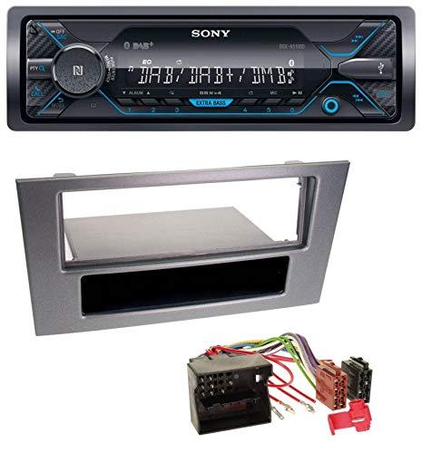 Sony DSX-A510BD USB MP3 Bluetooth DAB Autoradio für Ford Mondeo ab 03 OEM-Visteon-Sony Radios