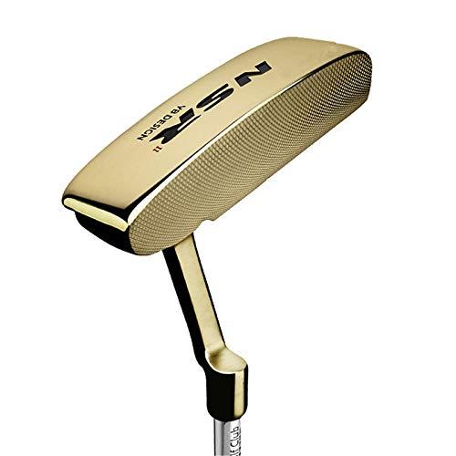 MAATCHH Golfhacker Golf Unisex Fairway Right Hand Einstellbarer Golfclub Für Golf (Color : Gold, Size : One Size)