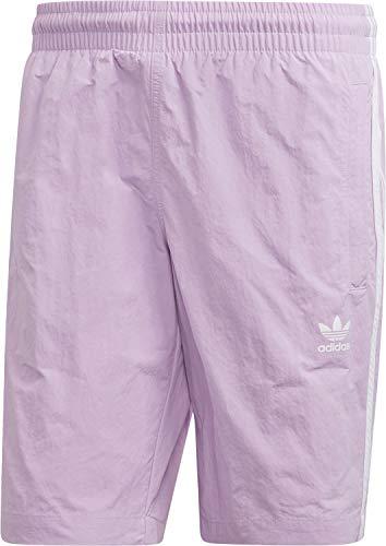 adidas Originals Herren Badehose 3 Stripes Swim DV1584 Lila Flieder, Größe:L