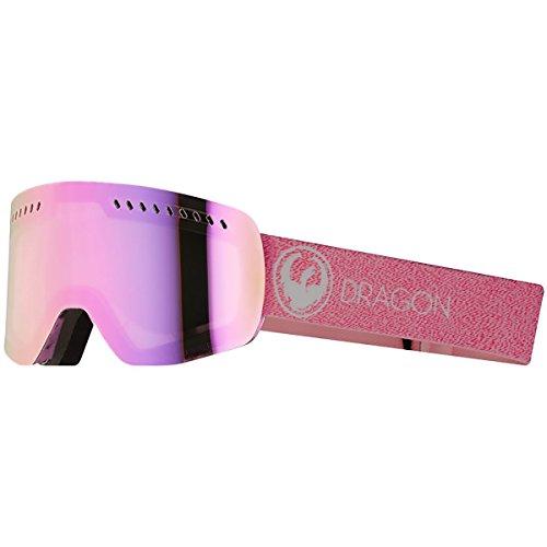 Dragon NFXS Sneeuwbril 2018 Mill/Lumalens Pink geïoniseerd