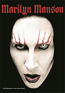 Marilyn Manson Headshot Large Textile Poster 44