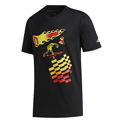 adidas Męski Dame Czy Taxi T-shirt, czarny, M