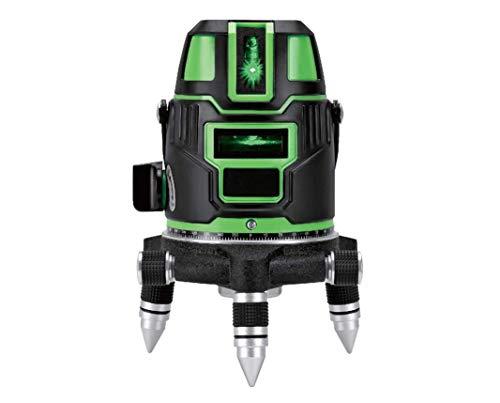 グリーンレーザー 墨出し器 5ライン 6点 フルライン 高精度 フルライン 光学測定器 軽量 墨付け 建築 基礎