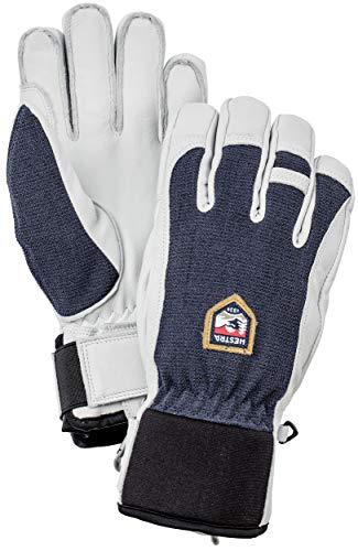 HESTRA Army Leather Patrol Handschuhe, marin, EU 9