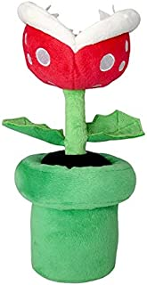 Little Buddy Super Mario All Star Collection 1594 Piranha Plant Stuffed Plush, 9