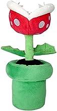"Little Buddy Super Mario All Star Collection 1594 Piranha Plant Stuffed Plush, 9"""