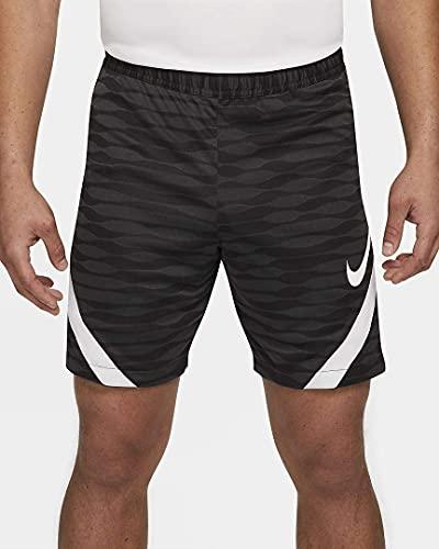 NIKE Dri-FIT Strike Pantalones Cortos, Hombre, Negro/Antracita/Blanco/Blanco, M