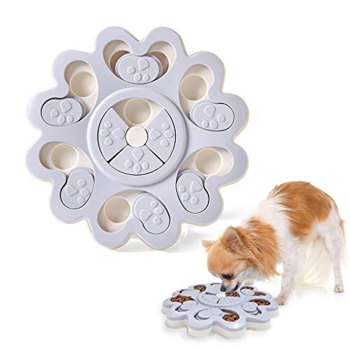 Hond Voedsel Speelgoed - Huisdier Smart Puzzle Interactief Speelgoed, Verbetering IQ Hond Training Games Voeder, Bijtbestendig Anti-slip Geschikt voor Jonge Huisdieren, Langzaam Eten Hond Voedsel Bowl Voorkomen Eten Te Snel