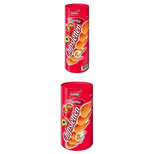 Lorenz Snack World Chipsletten Paprika, 15er Pack (15 x 100 g) + Snack World Chipsletten Paprika, 15er Pack (15 x 50 g)