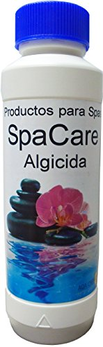 SpaCare Algicida Sin Espuma Especial para Spas y Jacuzzis. Botella 500 ML