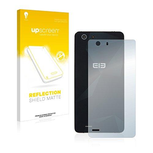 upscreen Entspiegelungs-Schutzfolie kompatibel mit Elephone S2 Plus (Rückseite) – Anti-Reflex Bildschirmschutz-Folie Matt