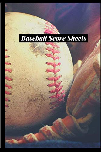 "Baseball Score Sheets: Game Record Book Sheet, Score Keeper, Fouls, Scoring, Free Throws, Running scorebook. Gifts for home and visiting teams, ... 6""x 9"", 120 pages. (Baseball Logs, Band 46)"