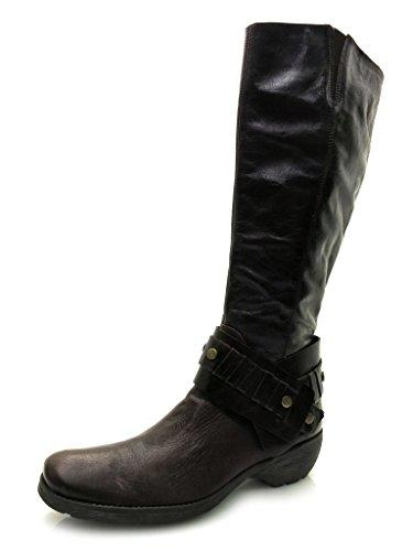 Lamica Stiefel Damenschuhe Boots Stiefeletten Neu Echtleder 2914 Braun