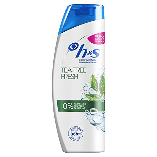 H&S Tea Tree Fresh Shampooing rafraîchissant anti-pellicules 360 ml