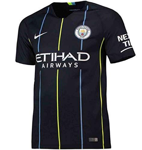 Nike Manchester City FC Stadium Away Kinder Trikot M Dark Obsidian/White