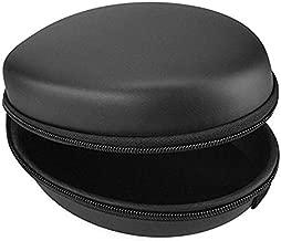 Head Audio Protective Case for Skullcandy HESH 3, Crusher Bluetooth, Beats Studio, Sennheiser Momentum2.0, Sony H.Ear On, Monster Diamond, Headphones Hard Shell Carrying Case/Headset Travel Bag (BK)