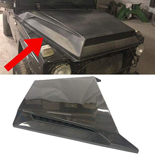 Carbon Fiber Hood Cover Scoop BRABUS B900 Style for Mercedes G WAGON W463, G63, G65, G500
