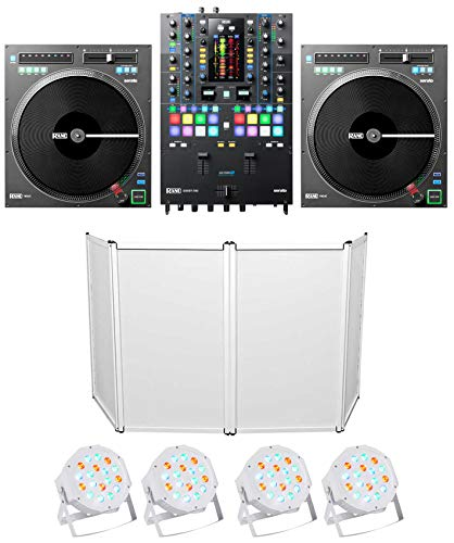 Best Price RANE SEVENTY-TWO DJ Mixer+2) Twelve Turntables+Facade+(4) Par Can Wash Lights