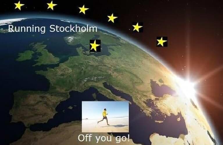 Running Stockholm (Running the EU Book 22) (English Edition)