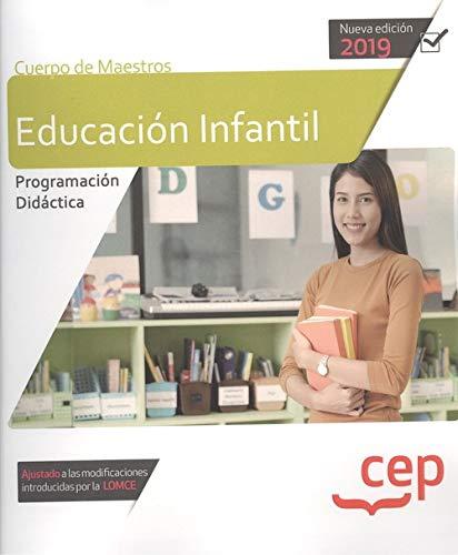 Cuerpo de maestros educacion infantil programacion didactica