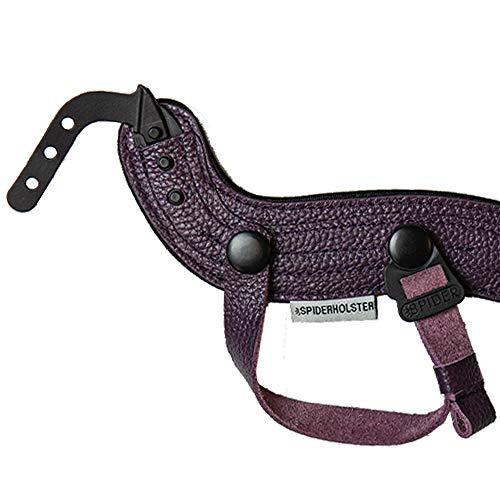 Spider Holster - SpiderPro Hand Strap v2, Purple - Compatible with DSLR and...