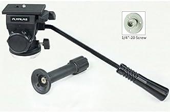Flyfilms 75mm Fluid Head/Drag Head for DSLR Camera Tripod pan tilt Nikon Canon Sony Payload Capacity Upto 3kg (FF-FL-DH)