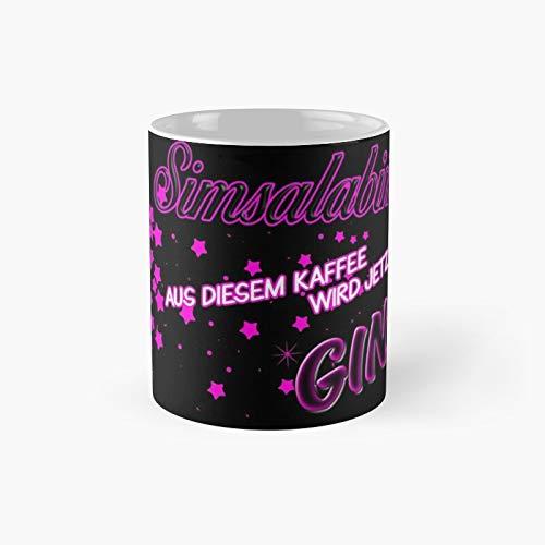 Simsalabim – This Coffee Now Becomes Gin Taza clásica | El mejor regalo divertidas tazas de café de 11 oz