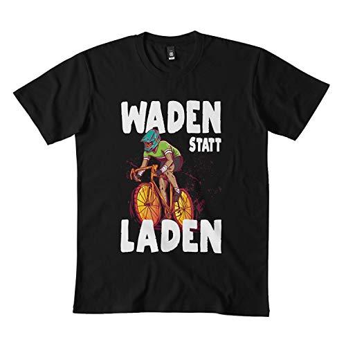 Calves Instead of Loading Mountain Bike Saying Classic T Shirt DMN0211 t-Shirts, Hoodie LD Black