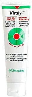 Feline Viralys Oral Gel L-Lysine HCI Nutritional Supplement for Cats 5 oz