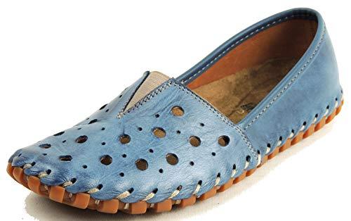 Gemini Damen Schnuerschuhe 031210-02/808 blau 582090