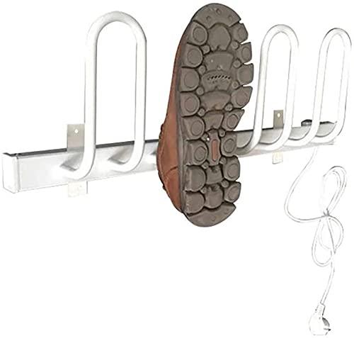 Secador De Zapatos Eléctrico Montado En La Pared, Secador De Guantes Y Calentador De Botas, Secador De Botas, Secado Rápido Para Zapatos, Sombreros, Botas De Esquí, Secado De 4 Zapatos Una Vez