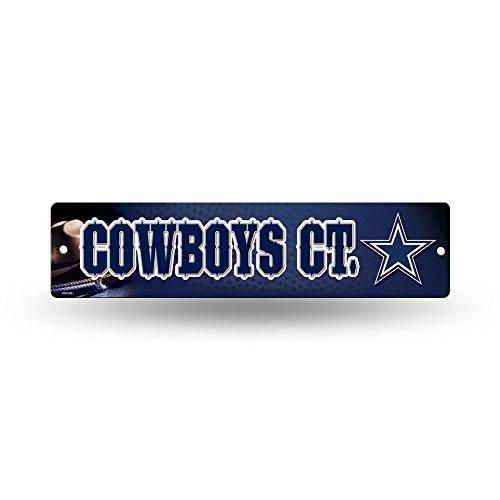 NFL Dallas Cowboys 16-Inch Plastic Street Sign Décor
