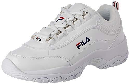 Fila Strada, Zapatillas Mujer, Blanco (White), 37 EU