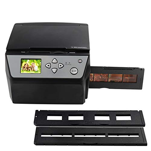 DZSF 4 in 1 Combo 22 Mega Pixel Photo And Digital 35 mm Film Scanner 135 Negative Converter Photo Scanner Biglietti da Visita Scanner