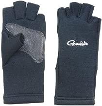 がまかつ(Gamakatsu) フィッシンググローブ クロロプレーン 5本切 ブラック GM7185