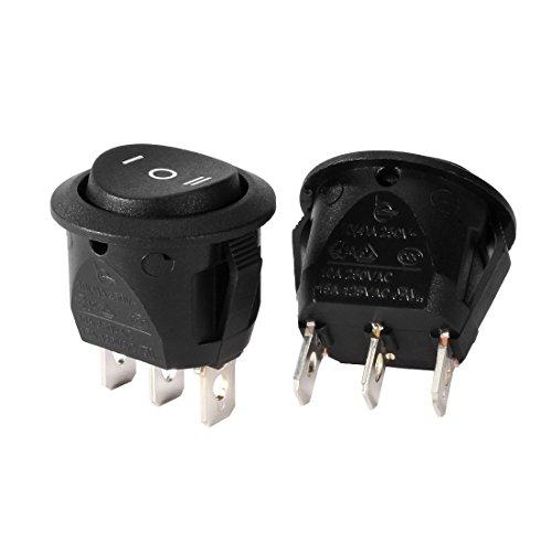 Aexit 5 piezas certificación UL AC250V / 10A 125V