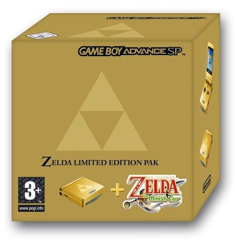 Game Boy Advance SP inkl. The Legend of Zelda: The Minish Cap