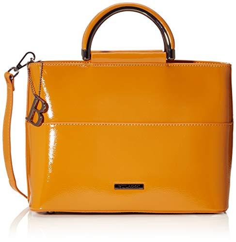 Bulaggi Aster Handbag - Borse a zainetto Donna, Rosso (Rost), 12x21x28 cm (B x H T)