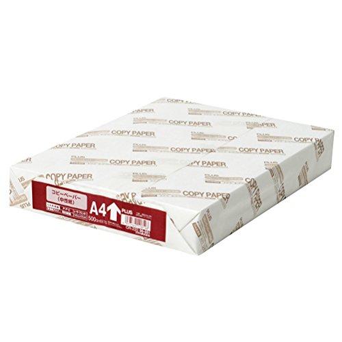プラス コピー用紙 A4 白色度82% 紙厚0.09mm 500枚 CR-220 56-001