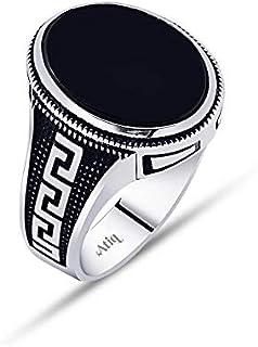 خاتم فضة 925من عتيق للرجال ، atiq087-01-10