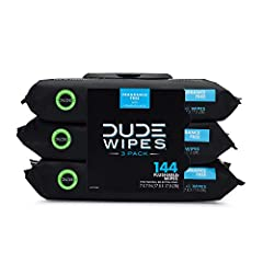 THE FUTURE IS NOW: We hated using toilet paper so we created the flushable DUDE Wipes, wet wipes specifically for cleansing your dude regions. Individually wrapped or in a 48-count dispenser, your dude parts are in good hands with DUDE Wipes. LARGER ...