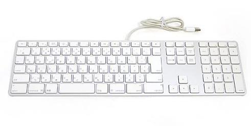 Apple純正部品 A1243 日本語キーボード