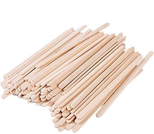 Kaffee Holz Rührstäbchen 100 Stück Einweg-Rührstab Holz Kaffee Milch Milch Tee Rührstab Unabhängige Verpackung Rührstab 100% biologisch abbaubar