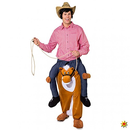 Huckepack Kostüm Pferd Trag Mich Kostüm Fasching Cowboy Carry Me
