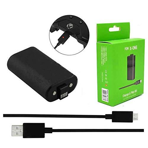 Bateria Carregador Controle Xbox One Play Charge 1400mah