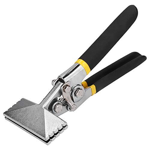 Selladora manual de metal recta de 3,1 pulgadas y 80 mm, herramientas para doblar chapa metálica, alicates de pico de pato, para doblar y aplanar chapa metálica