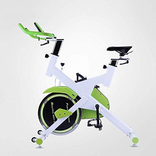 Bicicleta estática Bicicleta estática de ciclismo para interiores,Bicicleta de ejercicios para trabajo pesado,Bicicleta de ejercicios cardiovasculares para interiores ajustable para gimnasio en casa,B