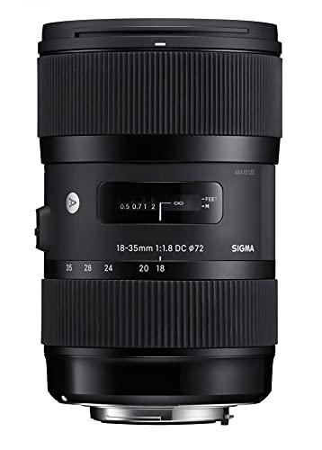 Sigma LH730-06 - Objetivo para cámaras Nikon (18-35mm, f/1.8, DC HSM, 72 mm), color negro