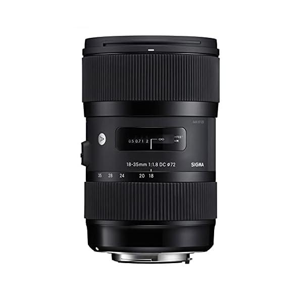 RetinaPix Sigma 18-35mm F1.8 DC HSM Lens for Nikon APS-C DSLRs (Black)